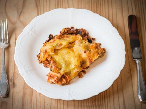 delicious classic lasagna