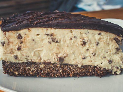 sweet cocoa cream pie
