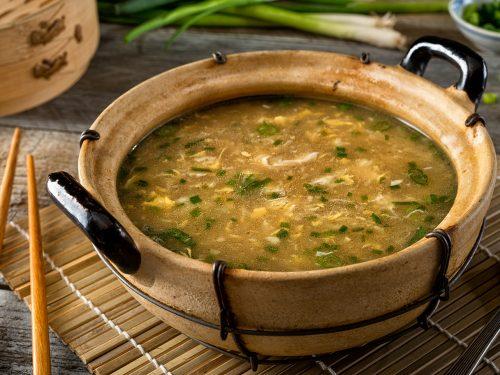 creamy egg drop soup