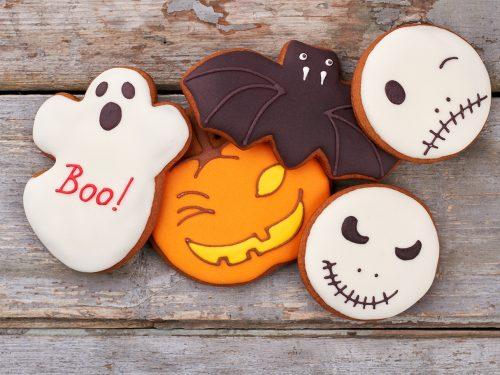 sweet halloween sugar cookies