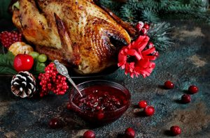 Hickory Smoked Turkey with Cranberry BBQ Sauce Recipe