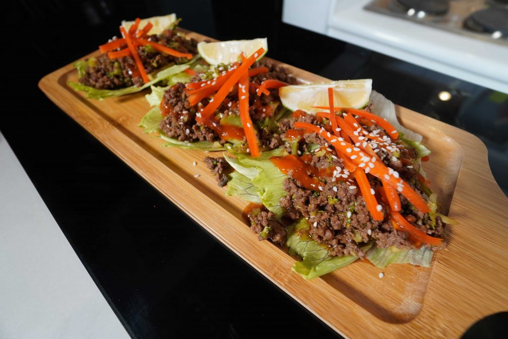 korean beef lettuce wraps