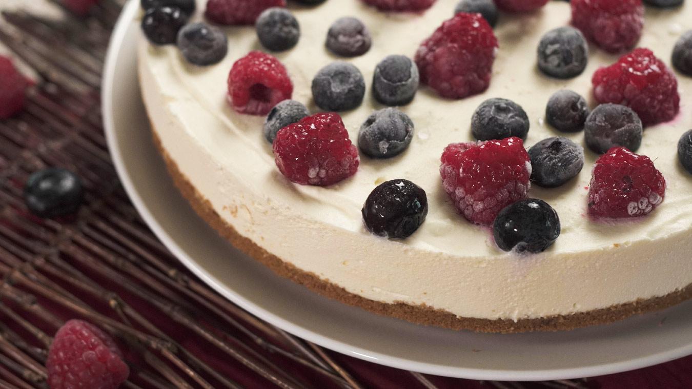 No-Bake New York Style Cheesecake Recipe