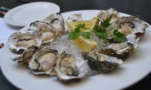 Oysters with Chardonnay Recipe