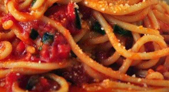 Buffalo Chicken Spaghetti Squashmain