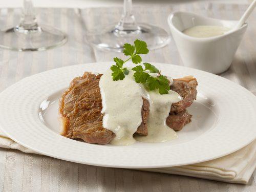 delicious steak roquefort