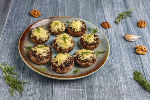 Stuffed Portabella Mushrooms Recipe
