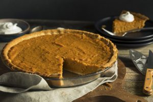 Sweet Potato Pie with Gingersnap Streusel Recipe