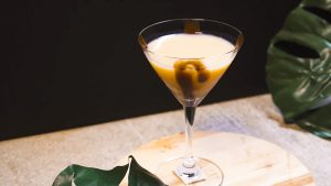 Dirty Orange Martini Recipe