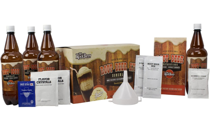 Mr Root Beer Home Brewing Root Beer Kit