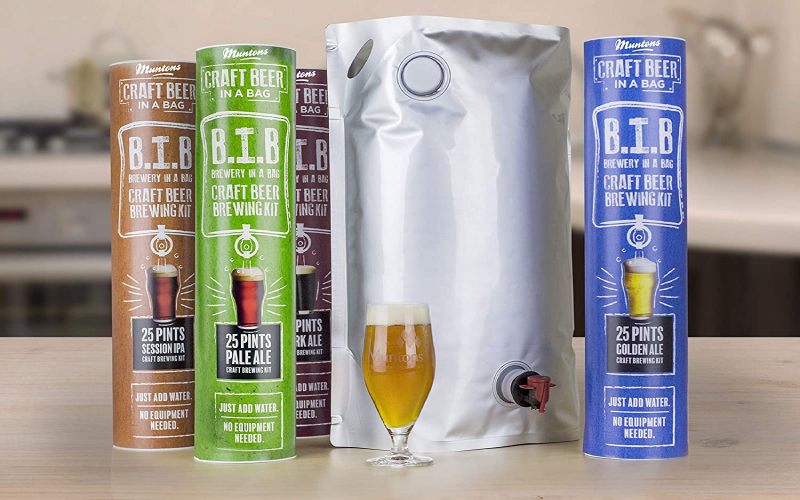 Muntons Craft Beer in a Bag Beer Making Kit