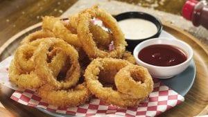 Panko Crusted Onion Rings Recipe