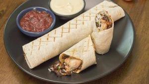 Qdoba Copycat Chicken Burrito Recipe