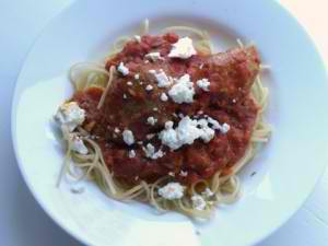 Turkey Feta Meatballs Recipe