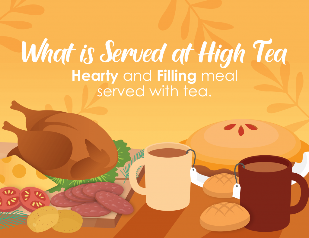 what food is served at high tea