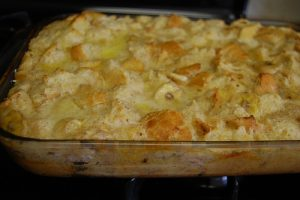 An Easy Crowd Pleaser Banana Bread Pudding Recipe