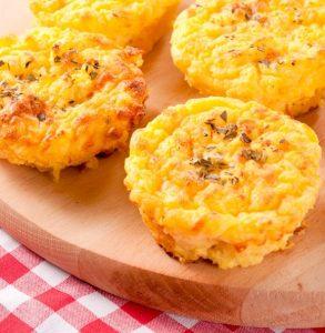 Cheddar Mashed Potato Muffins Recipe