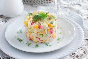 Chilled Corn and Crab Summer Salad Recipe