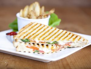 Classic Tomato, Arugula, and Cheese Panini Recipe