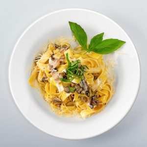 Delectable Mushroom Fettuccine Recipe