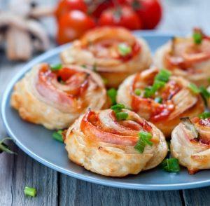 Easy Ham and Cheese Pinwheel Recipe