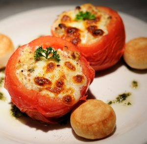 Easy Cheesy Stuffed Tomato Recipe