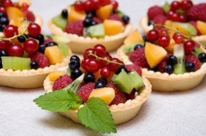 Fresh Fruit Tarts Recipe