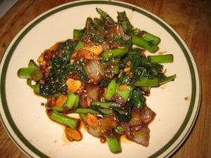 Garlic Bacon Bok Choy Recipe