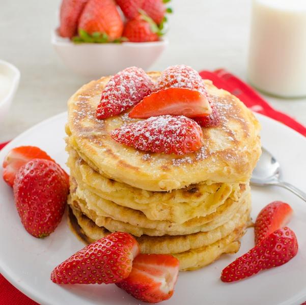 Greek Yogurt Pancakes Recipe