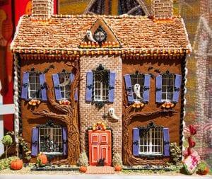 Haunted Halloween Gingerbread House Recipe