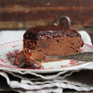 Homemade Thick Chocolate Cake Recipe