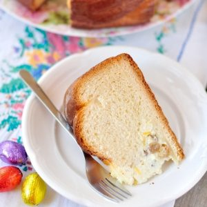 Cherry Garcia Ice Cream Bread - FoodBabbles.com