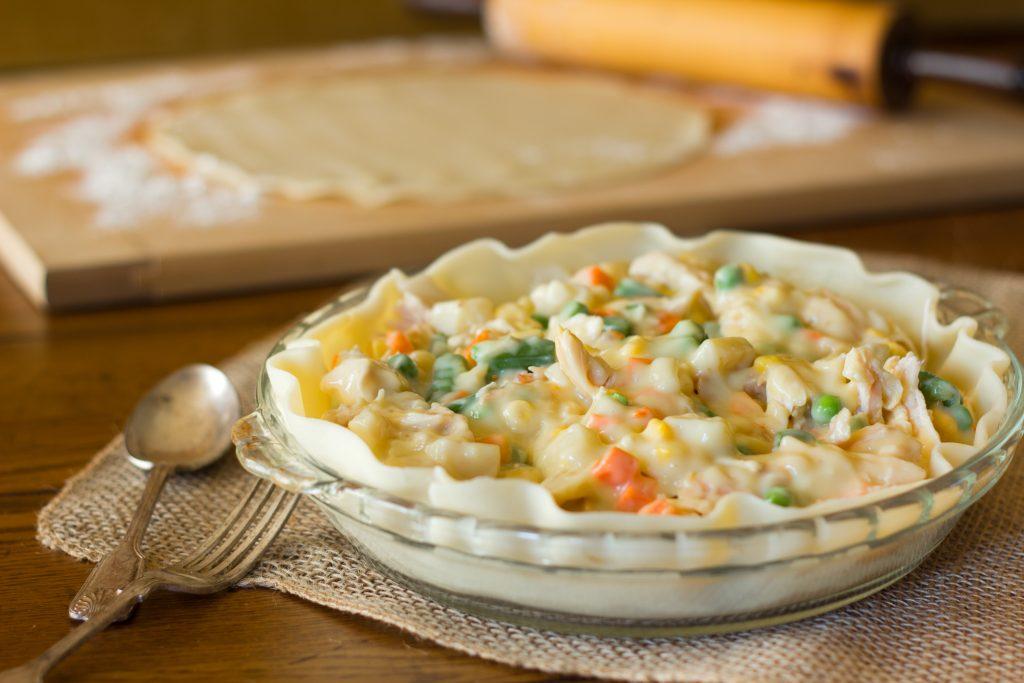 instant pot chicken pot pie recipe, easy winter dinner ideas