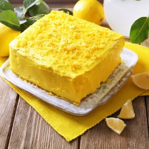 Lemon Dump Cake Recipe