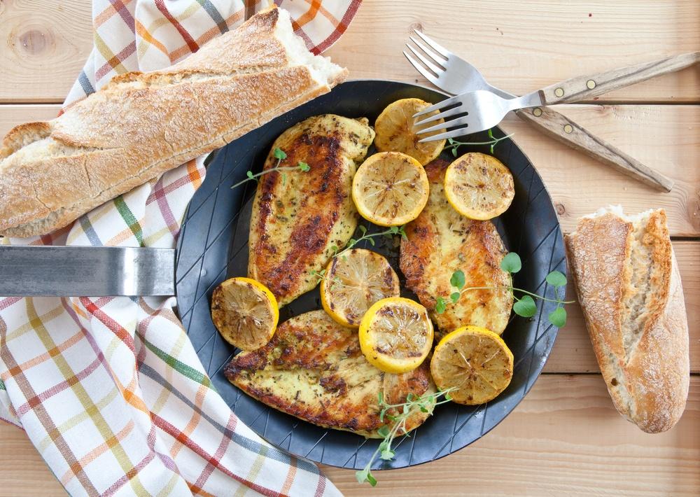 lemon herb garlic chicken breast