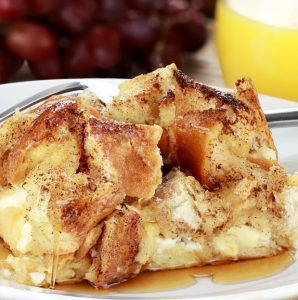 Make-Ahead Apple Butter French Toast Casserole Recipe