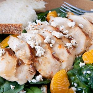 Mandarin Orange and Grilled Chicken Salad Recipe