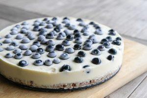 No-Bake Fresh Blueberry Cheesecake Recipe
