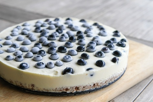 No-Bake Fresh Blueberry Cheesecake Recipe