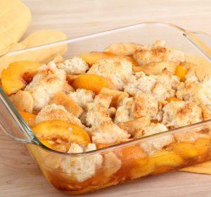 Peach Cobbler with Fresh Peaches Recipe