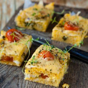 Polenta Tomato Bake Recipe