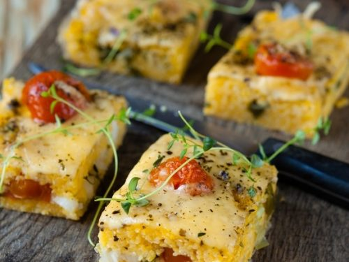 polenta tomato bake