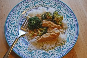 Quick And Easy Spicy Peanut Butter Chicken Recipe