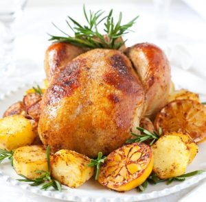 Roasted Lemon Chicken Recipe