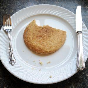 Single-Serve Snickerdoodle Cookies Recipe