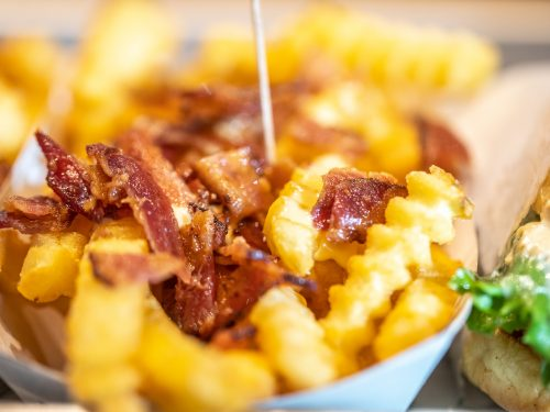 outback steakhouse-inspired aussie cheese fries