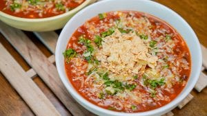 Copycat On The Border Tortilla Soup Recipe