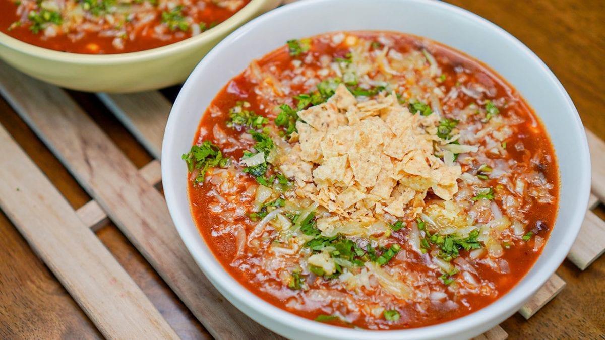 copycat on the border tortilla soup