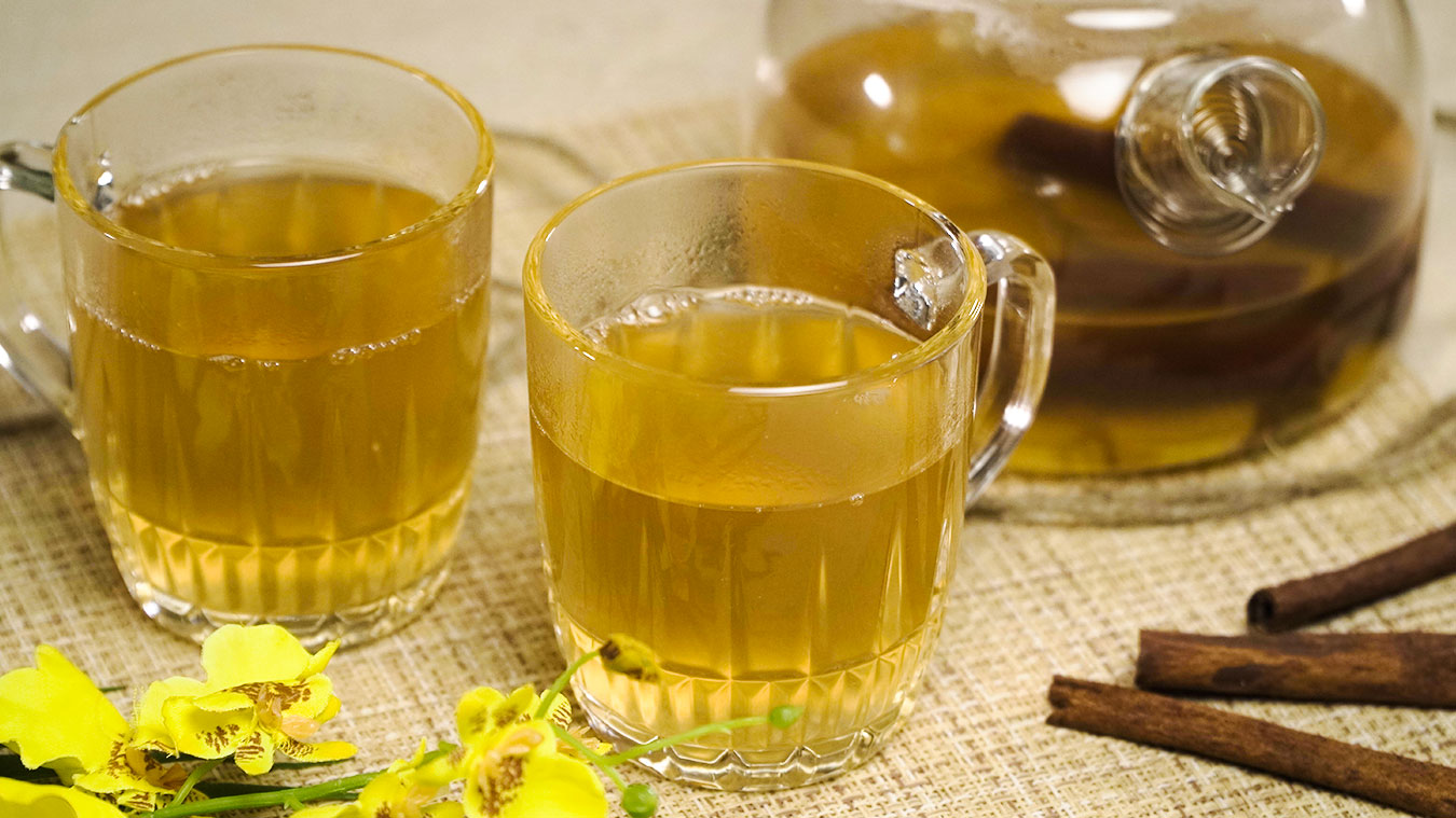 Ginger Cinnamon Tea Recipe