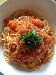Capellini Pomodoro (Olive Garden Copycat)